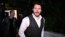 Chris Pratt vs. Chris Evans -- Super Bowl Wager ... 'Best Bet I Ever Lost'