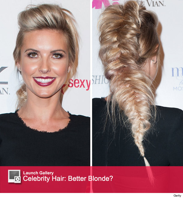 Audrina Patridge Debuts Blonde Hair See Her Crazy New Do