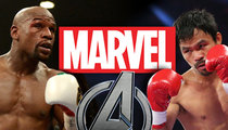 Marvel Studios -- We're Not Afraid of Mayweather ... 'Avengers 2' Ain't Moving
