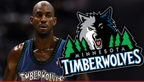 Kevin Garnett -- Timberwolves Fans Jump Gun ... Buy Tix to Wrong Game