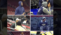 Indiana Pacers -- Freezing Philly Arena ... [Update: Heater Not Broken]