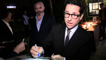 J.J. Abrams -- New Lightsaber Gets Seal of Approval ... From Major Celebrity Nerd