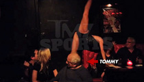 Tommy Lasorda -- Nods Off at Hot Burlesque Show (Video)