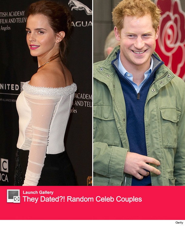 Emma Watson Responds To Those Prince Harry Dating Rumors
