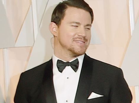 Channing Tatum Can't Keep His Eyes Off Wife Jenna -- And We See Why!