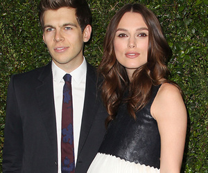Keira Knightley Flaunts Baby Bump at Pre-Oscar Bash