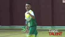 LeBron James Jr. -- DOMINATION CONTINUES ... Leads 4th Graders to Championship