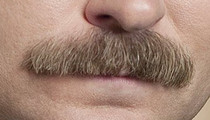 """30 Dirty Ron Swanson Mustache Pics To Give """"Parks and Recreation"""" A Prickly Kiss Goodbye"""