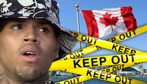 Chris Brown -- DENIED Entrance into Canada Hours Before Show