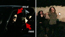 Kylie Jenner -- Hysterical Girls Cry, 'She's Our Role Model!' (VIDEO)