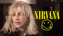 Courtney Love -- Fake Nirvana Song Is So Bad ... It's a Crime