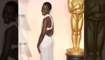 Lupita Nyong'o's $150K Pearl Oscar Dress -- STOLEN!!!