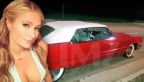 Paris Hilton -- Obsessed Fan Gets Crazy with Classic Caddy