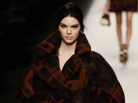 Kendall Jenner & Gigi Hadid Rock The Runway At Milan Fashion Week