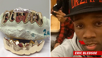 NBA Star Eric Bledsoe -- Drops $2,500 on Gold, Diamond Grillz