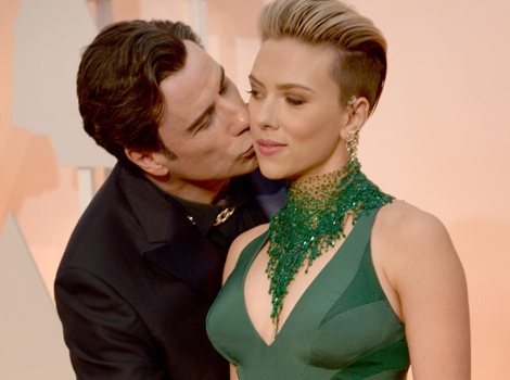 "Scarlett Johansson Says There's Nothing ""Creepy"" About That John Travolta Photo"