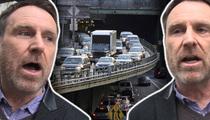 Colin Quinn -- Beware Drunk Comedians ... Sleeping in Traffic (TMZ TV)