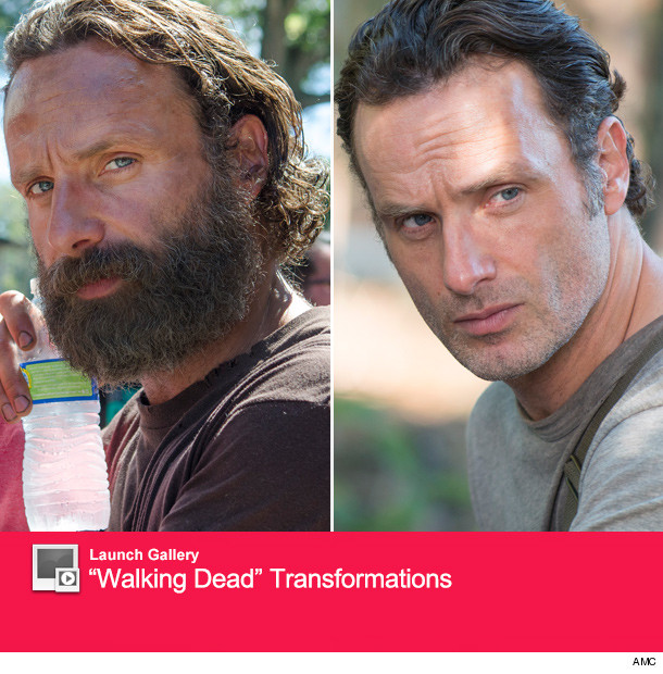 Rick Grimes Shaves See Quot The Walking Dead Quot Star Andrew