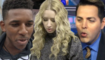 Nick Young -- Threatens ESPN Reporter ... Over Iggy Diss