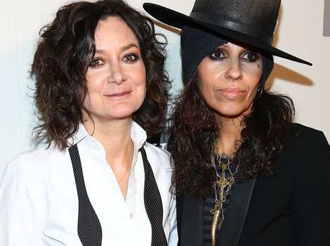 Sara Gilbert & Linda Perry Welcome Son -- See Baby's First Photo!