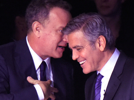 George Clooney Gushes Over Wife Amal, Laughs With Tom Hanks At Children's Gala
