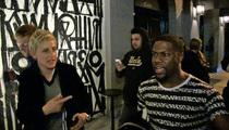 Kevin Hart & Ellen DeGeneres -- Oscars' Past Meets Its Future ... Possibly (We Hope)