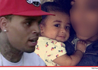 Chris Brown -- Surprise, I'm a Father!