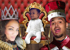Chris Brown -- My Baby is Royalty!!!