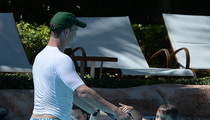 Peyton Manning -- T-Shirts in the Pool ... Ain't Just for Fat Guys!