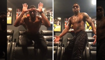 Steelers William Gay -- 1-Man Shirtless Dance Party (video)
