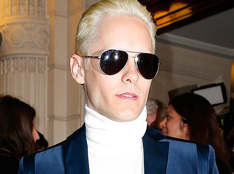 Jared Leto Pulls a Kim Kardashian -- Goes Platinum Blonde for Joker Role!