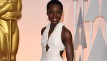 Lupita Nyong'o Stolen Dress -- Thief Gets Away with It ... Case Closed