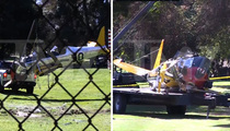 Harrison Ford -- Clearing Present Danger ... Wrecked Plane Moved (VIDEO)