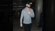 Scott Disick -- Returns to L.A. After Creating International Incident!