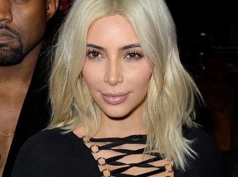 Kim Kardashian Flaunts Krazy Cleavage & Katy Perry Goes Goth During Paris Fashion Week