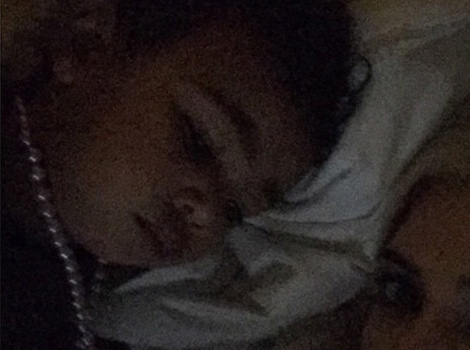 Kim Kardashian Reads to North Before Bedtime -- See The Sweet Pic!