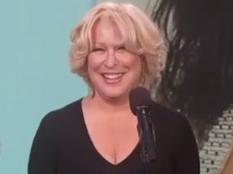 Bette Midler Turns Kim Kardashian's Ridiculous Tweets Into Emotional Ballads