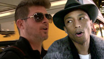 Robin Thicke & Pharrell Williams -- Got to Give It Up to Marvin Gaye's Family ... Jury Rules 'Blurred Lines' Was a Rip-Off