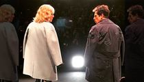 Ben Stiller & Owen Wilson -- It's a Walk-Off! Hansel and Derek Crash Paris Fashion Week
