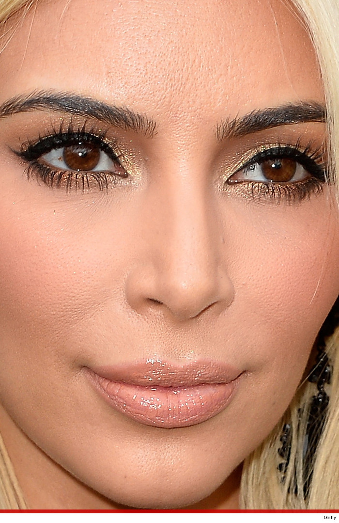 Kim Kardashian's Porous Pout -- Too Close For Comfort ...