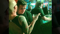 Ryan Lochte -- Clubbin' With Amber Rose ... In The Bahamas