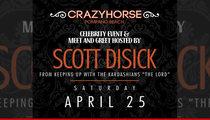 Scott Disick -- Regular Club Appearances Suck ... I'm Doing Strip Clubs Now!