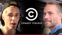 Justin Bieber Roast -- Comedy Central Axes Paul Walker Jokes