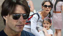 Tom Cruise and Katie Holmes -- No Love Lost ... NOT on Speaking Terms