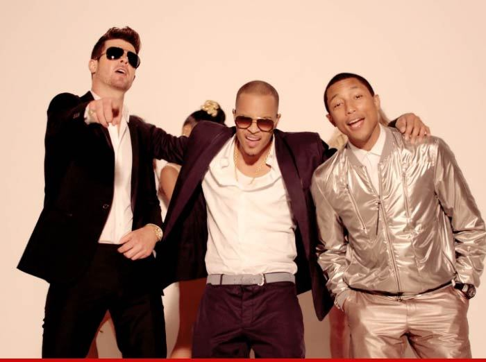 Marvin gaye and blurred lines