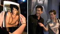 Rob Lowe -- Son Rags on Shirtless Pic ... 'Bad Decision Rob Lowe'