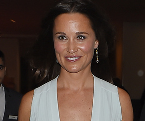 Pippa Middleton Shows Some Serious Skin in a Low-Cut Gown