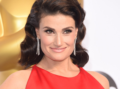 Idina Menzel Debuts Bright Blonde 'Do -- Like The Look?