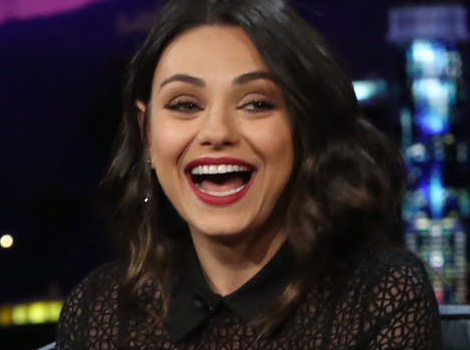 Mila Kunis Says She Thinks About Baby Wyatt When She Has Sex With Ashton Kutcher