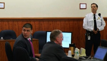 Aaron Hernandez -- Bomb Threat at Courthouse